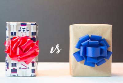 "The ""Pom Pom"" Bow – Ribbon vs Paper"