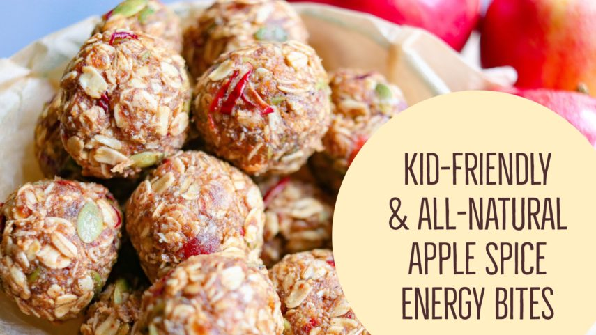 How To Make Kid Friendly All Natural Apple Spice Energy