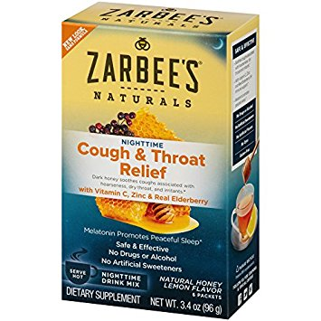 zarbee's throat nighttime