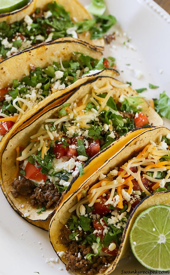 Beef Ranch-Tacos