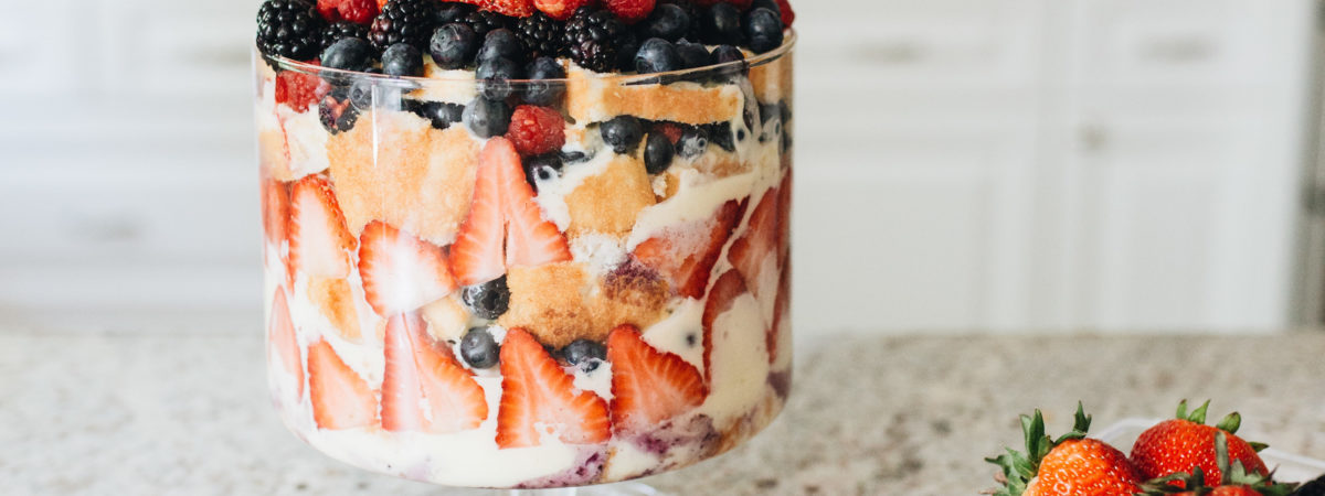 How to make a Very Berry English Trifle for The Royal Wedding