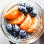 Dreamsicle Orange and Cream Chia Pudding