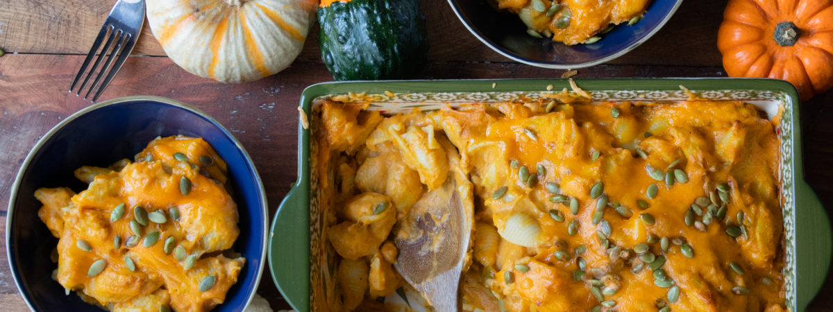 The Best Pumpkin Mac and Cheese Ever