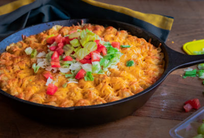 Easy Tater Tot Cheeseburger Casserole