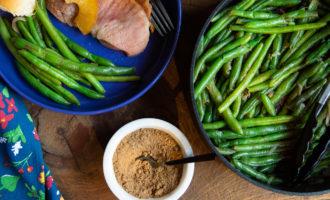 Pumpkin Spice Green Beans