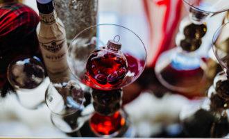 Jingletini Holiday Cocktail