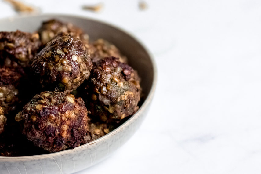 Beef and Lentil Meatballs