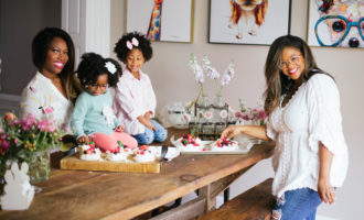 Petite Mini Pavlovas and Playdates