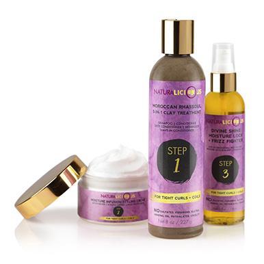 Naturalicious clay shampoo
