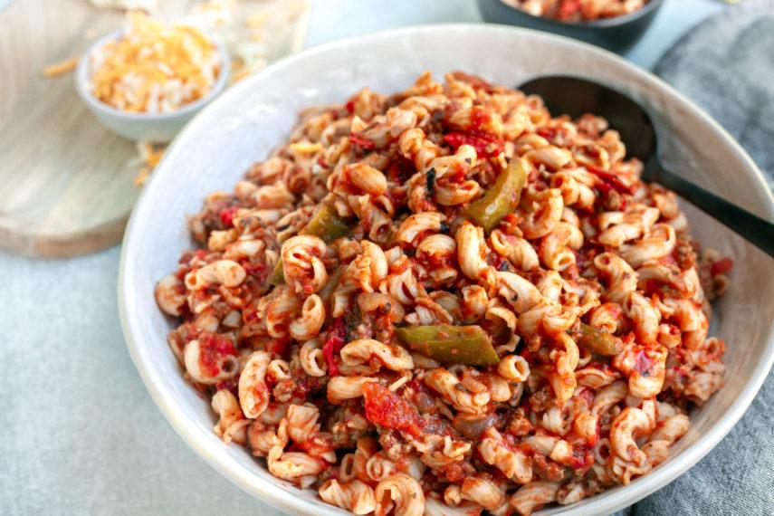 easy instant pot american goulash