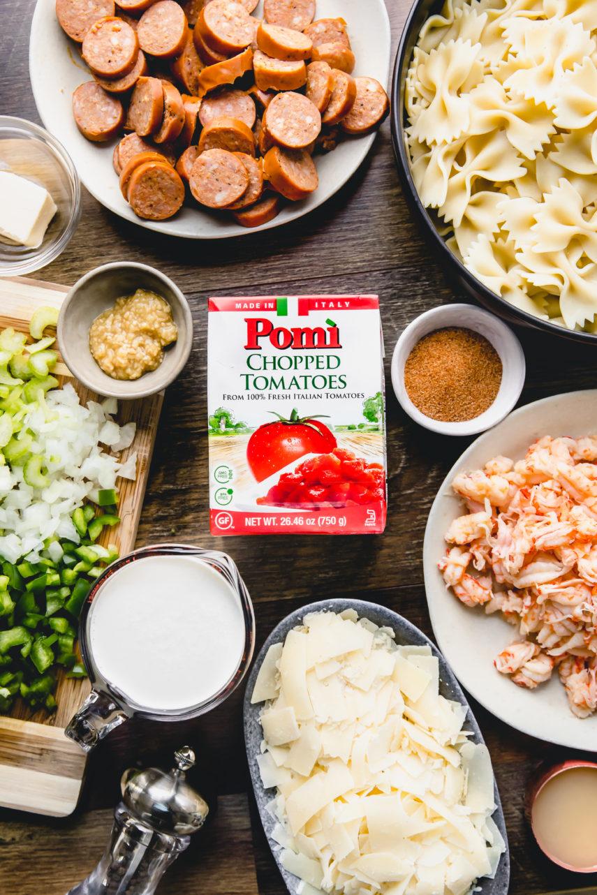 How to make Creole Crawfish Tomato Alfredo