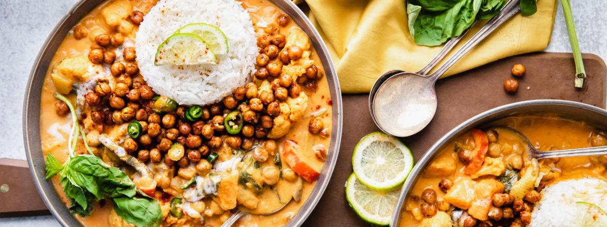 Authentic Vegan Thai Red Curry recipe