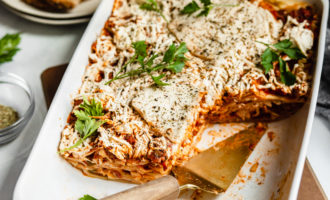 Vegan Meat Replacement Lasagna