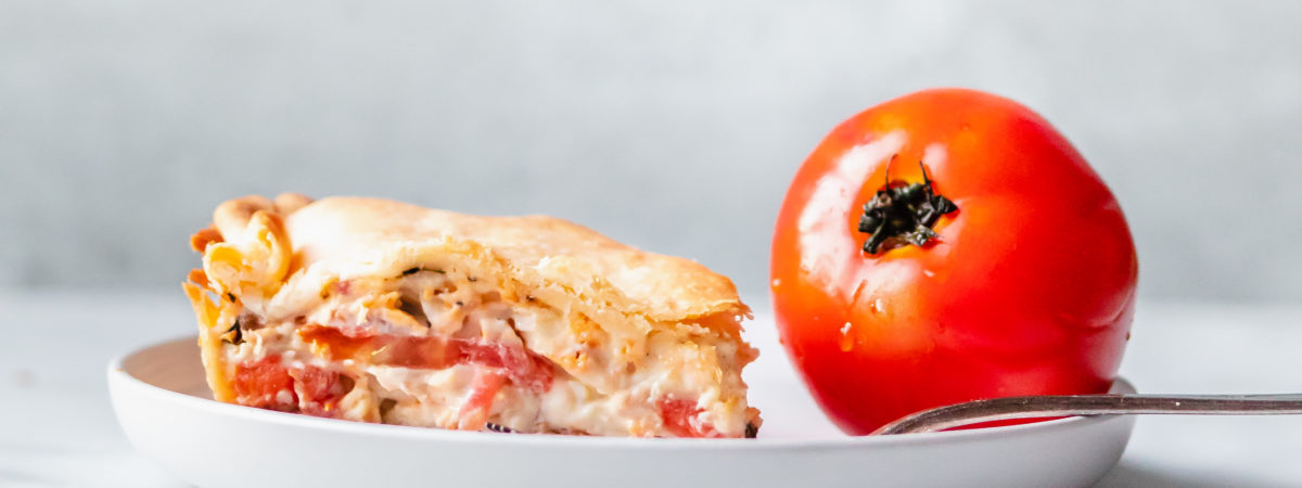 How to make easy Southern Tomato Pie with Bacon, Basil and Jack Cheese