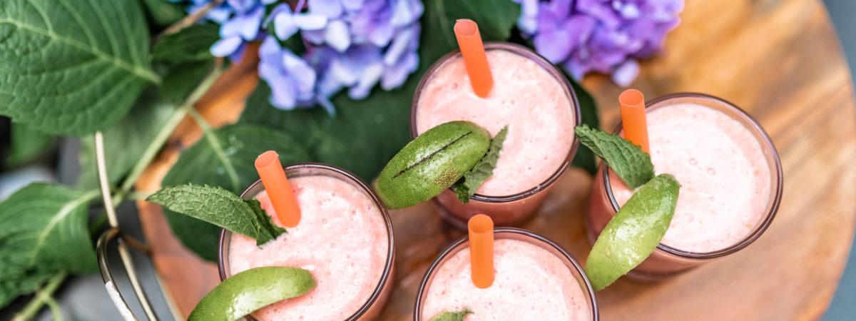 Creamy Watermelon Coconut Smoothie