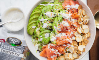 Taylor Farms - Avocado Toast Bowl everything bagel