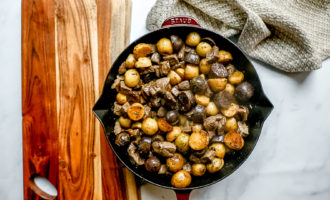 Garlic Butter Steak and Potato Bites