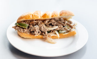 Simple Classic Philly Cheese Steak