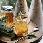 Chamomile Honey Hot Toddy photography and smoking sage