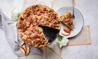 Irish Apple Cake with Walnuts